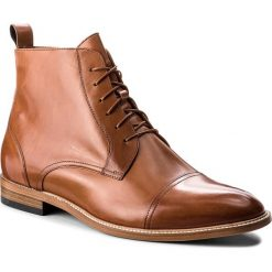 Kozaki GINO ROSSI - Henry MTV802-S84-4300-5000-0 28. Szare buty zimowe męskie marki Gino Rossi, w paski, z materiału, małe. W wyprzedaży za 449,00 zł.