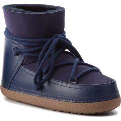 Buty INUIKII - Boot Classic 70101-7 D'Blue. Niebieskie buty zimowe damskie Inuikii, ze skóry, na niskim obcasie. Za 1269,00 zł.