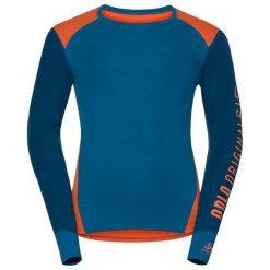 Odlo Koszulka tech. Odlo Shirt l/s crew neck WARM Revelstoke      - 150652 - 150652/30366/XL. Szare koszulki sportowe męskie marki Odlo. Za 147,74 zł.