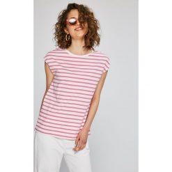 Calvin Klein Jeans - Top. Szare topy damskie Calvin Klein Jeans, l, z jeansu. W wyprzedaży za 139,90 zł.