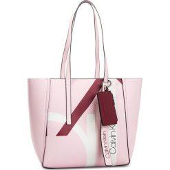 Torebka CALVIN KLEIN - Ck Base Medium Shopper Print K60K604667 629. Czerwone shopper bag damskie marki Calvin Klein, ze skóry ekologicznej. Za 649,00 zł.