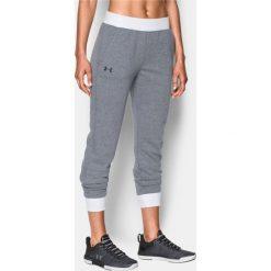Spodnie sportowe damskie: Under Armour Spodnie damskie Tb Fleece Pant Szare r.  M (1300291-008)