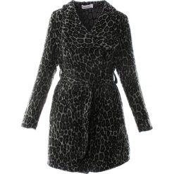 Płaszcze damskie pastelowe: Płaszcz materiałowy - 1-2202 NER-GR