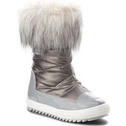Kozaki dziewczęce: Śniegowce BARTEK – 24385-82G Szary