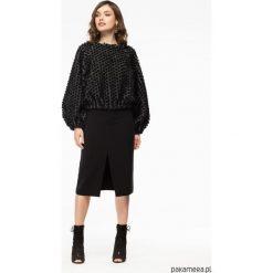 Spódnica ołówkowa z rozcięciem czarna. Czarne spódnice wieczorowe Pakamera, ołówkowe. Za 248,00 zł.