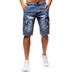 Spodenki i szorty męskie: Spodenki męskie jeansowe niebieskie (sx0675)