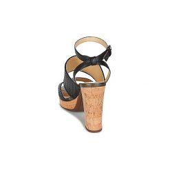Sandały Geox  MAUVELLE A. Czarne sandały damskie marki Geox. Za 356,30 zł.