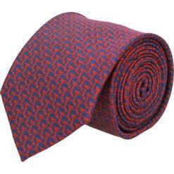Krawat platinum granatowy classic 270. Niebieskie krawaty męskie Recman. Za 49,00 zł.