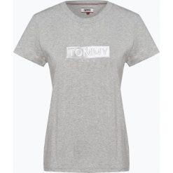 Tommy Jeans - T-shirt damski, szary. Szare t-shirty damskie marki Tommy Jeans, l, z dżerseju. Za 179,95 zł.