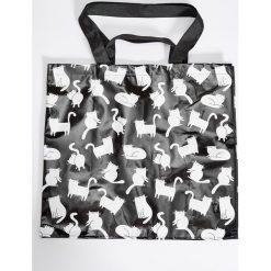 Shopper bag damskie: Torba na zakupy - Czarny