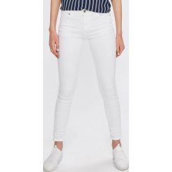 Answear - Jeansy. Czarne jeansy damskie rurki marki ANSWEAR, z bawełny. W wyprzedaży za 79,90 zł.