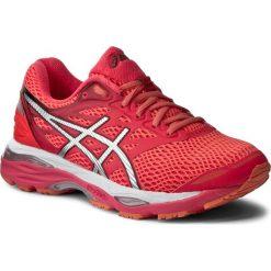 Buty ASICS - Gel-Cumulus 18 T6C8N Diva Pink/Silver/Coral Pink 2093. Czerwone buty do biegania damskie Asics, z materiału. W wyprzedaży za 349,00 zł.