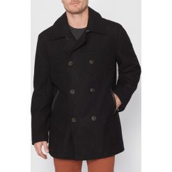 Płaszcze przejściowe męskie: Płaszcz dwurzędowy z sukna wełnianego