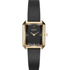 DKNY - Zegarek NY2644. Czarne zegarki damskie DKNY, szklane. Za 469,90 zł.