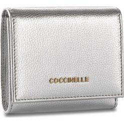 Portfele damskie: Mały Portfel Damski COCCINELLE – BW5 Metallic Soft E2 BW5 11 48 01 Silver 169