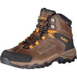 """Buty trekkingowe męskie: Skórzane buty trekkingowe """"Riore DX"""" w kolorze brązowym"""