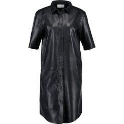 Sukienki hiszpanki: Samsøe & Samsøe ELA Sukienka koszulowa black