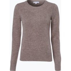 Brookshire - Sweter damski, beżowy. Czarne swetry klasyczne damskie marki brookshire, m, w paski, z dżerseju. Za 149,95 zł.