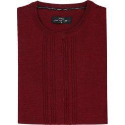 Sweter PIETRO PW 15-44SR. Czerwone swetry klasyczne męskie Giacomo Conti, m, z kaszmiru. Za 199,00 zł.