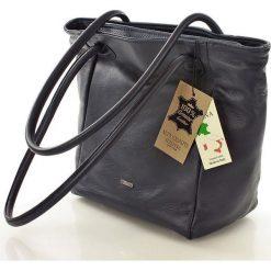 ESTRELLA Torebka włoska skóra granatowa. Niebieskie torebki klasyczne damskie FURRINI, ze skóry. Za 259,00 zł.