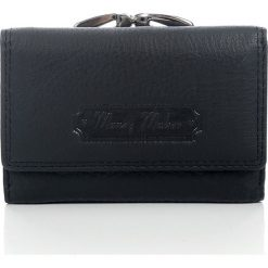 Czarny Portfel damski Money Maker skórzany z pudełkiem. Czarne portfele damskie Money Maker, ze skóry. Za 66,90 zł.