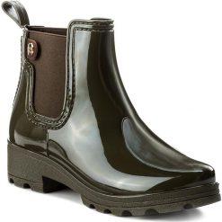 Kalosze GIOSEPPO - 40840 Khaki. Zielone buty zimowe damskie marki Gioseppo, z materiału. W wyprzedaży za 149,00 zł.