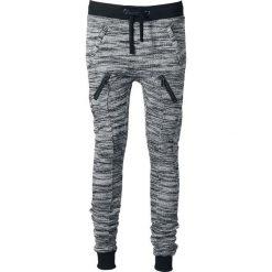 Urban Classics Ladies Fitted Melange Zip Sweatpants Spodnie dresowe damskie szary/czarny. Czarne spodnie dresowe damskie Urban Classics, l, z dresówki. Za 121,90 zł.