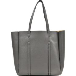 Torebka w kolorze szarym - (S)42 x (W)33 x (G)12 cm. Szare torebki klasyczne damskie Bestsellers bags, z materiału. W wyprzedaży za 299,95 zł.