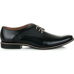 Wizytowe obuwie męskie IAN. Czarne buty wizytowe męskie LUCCA. Za 219,00 zł.