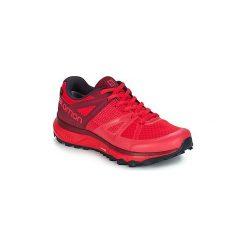 Buty do biegania Salomon  TRAILSTER GTX® W. Szare buty do biegania damskie marki Salomon, z gore-texu, na sznurówki, gore-tex. Za 549,00 zł.