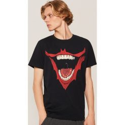 Koszulka piżamowa Batman - Czarny. Czarne piżamy męskie House, l, z motywem z bajki. Za 49,99 zł.