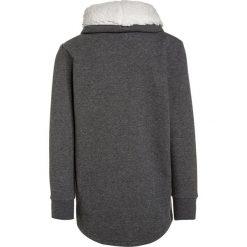 Bench GRAPHIC OVERHEAD Bluza winter antracite marl. Szare bluzy chłopięce marki Bench, z bawełny, z kapturem. W wyprzedaży za 156,75 zł.