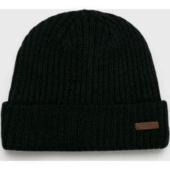 Barts - Czapka. Czarne czapki zimowe męskie marki Barts, na zimę, z dzianiny. Za 79,90 zł.