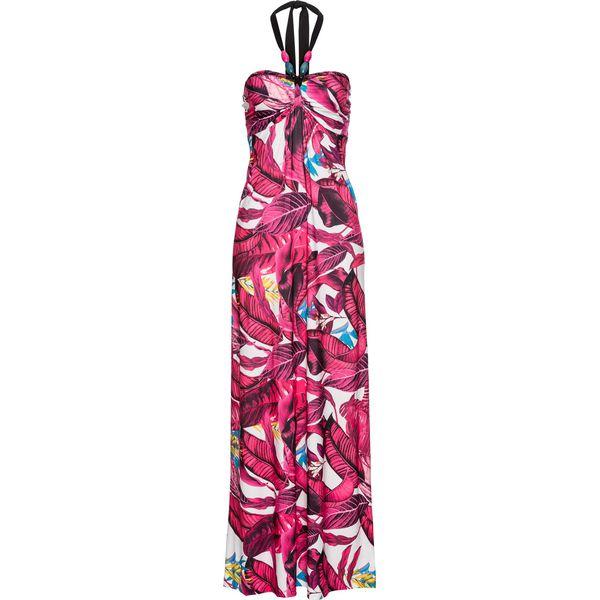 073e9158 Długa letnia sukienka bonprix różowy