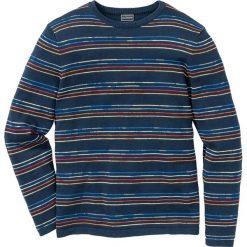 Swetry męskie: Sweter Slim Fit bonprix ciemnoniebieski