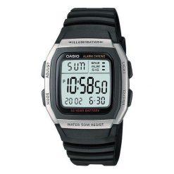 Zegarek Casio Zegarek męski Gubert Alarm Chrono W-96H -1A. Czarne zegarki męskie CASIO. Za 108,00 zł.