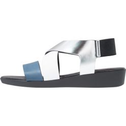 Rzymianki damskie: Rapisardi MARZIA Sandały na koturnie nero/blue/silver/white