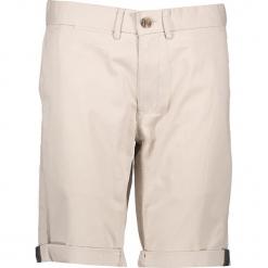 Spodnie chino - Slim fit - w kolorze beżowym. Brązowe spodenki i szorty męskie marki Ben Sherman, z aplikacjami, z materiału. W wyprzedaży za 152,95 zł.