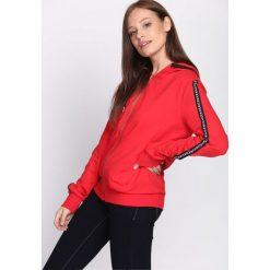 Bluzy damskie: Czerwona Bluza Radiant