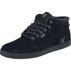Etnies Jefferson Mid Buty sportowe czarny/czarny. Czarne buty skate męskie Etnies, na sznurówki. Za 386,90 zł.