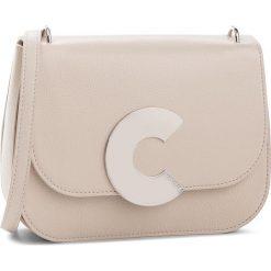 Torebka COCCINELLE - CN5 Craquante E1 CN5 12 01 01 Seashell N43. Brązowe listonoszki damskie Coccinelle, ze skóry. W wyprzedaży za 1049,00 zł.