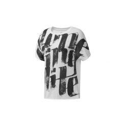 T-shirty z krótkim rękawem Reebok Sport  Koszulka Oversized. Białe bluzki sportowe damskie Reebok Sport, m, z krótkim rękawem. Za 119,00 zł.