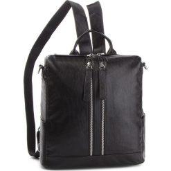 Plecak JENNY FAIRY - RC11688 Black. Czarne plecaki damskie marki Jenny Fairy, ze skóry ekologicznej, klasyczne. Za 119,99 zł.