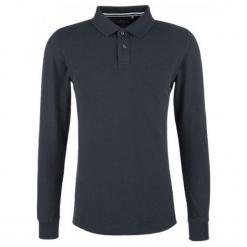 S.Oliver Koszulka Polo Męska L Ciemnoniebieski. Czarne koszulki polo S.Oliver, l, z długim rękawem. Za 119,00 zł.
