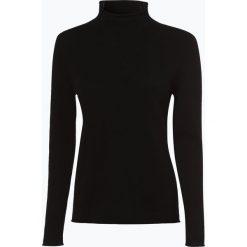 Marie Lund - Sweter damski z czystego kaszmiru, czarny. Czarne swetry klasyczne damskie Marie Lund, xl, z dzianiny. Za 499,95 zł.