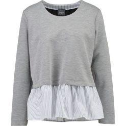 Bluzki asymetryczne: Persona by Marina Rinaldi OVATTA Bluzka z długim rękawem medium grey