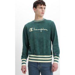 Champion Reverse Weave TERRY CONTRAST RIB Bluza green. Zielone kardigany męskie Champion Reverse Weave, m, z bawełny. W wyprzedaży za 367,20 zł.