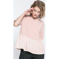 Vero Moda - Top Bardot. Szare topy damskie marki Vero Moda, l. W wyprzedaży za 59,90 zł.