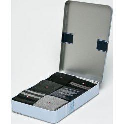 Tommy Hilfiger - Skarpety (5-pack). Czarne skarpetki męskie marki TOMMY HILFIGER, z bawełny. Za 119,90 zł.
