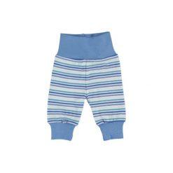 FIXONI Boys Spodnie dresowe kolor niebieski. Niebieskie spodnie niemowlęce Fixoni, z bawełny. Za 49,00 zł.